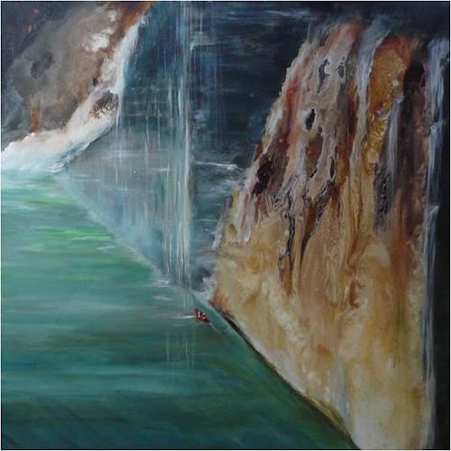 ReMara, Wagemut, Diverse Landschaften, Symbol, Gegenwartskunst, Expressionismus