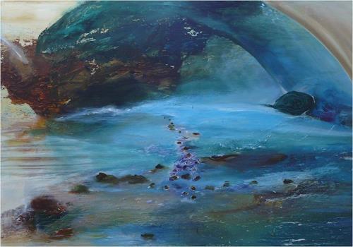 ReMara, Flussgeschichten, Diverse Landschaften, Fantasie, Gegenwartskunst, Abstrakter Expressionismus