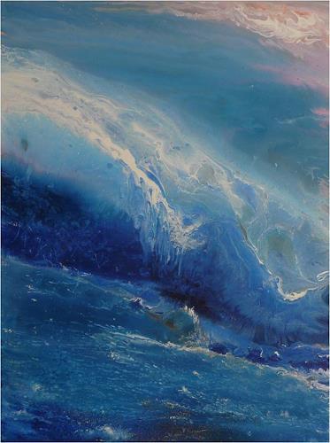 ReMara, Wave after wave, Fantasie, Natur: Wasser, Gegenwartskunst, Expressionismus