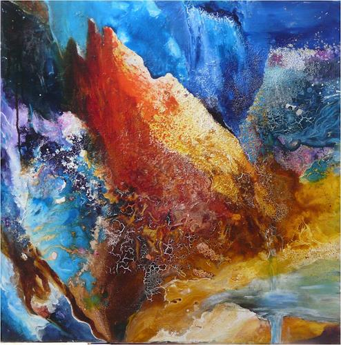 ReMara, Bergfantasie, Natur: Gestein, Fantasie, Gegenwartskunst, Abstrakter Expressionismus