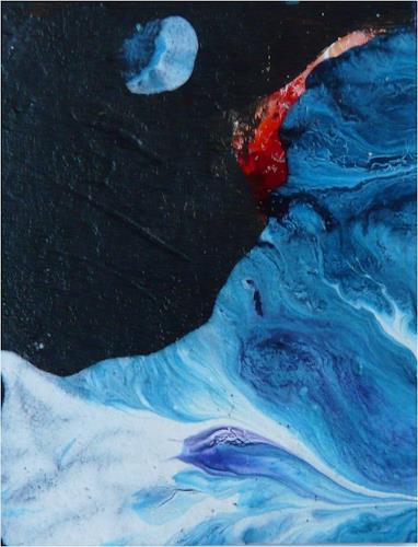 ReMara, EINS (aus der serie Mini), Abstraktes, Symbol, Gegenwartskunst