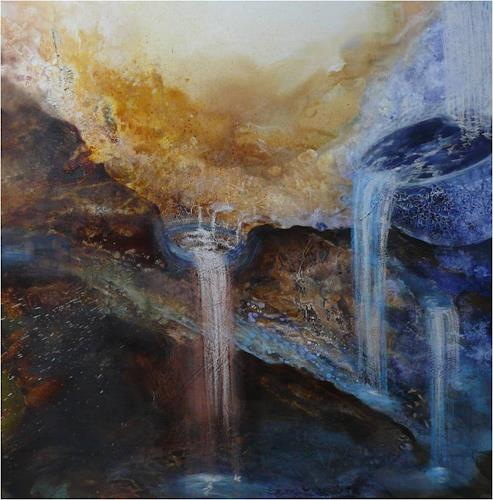 ReMara, Die Schale der Liebe, Abstraktes, Poesie, Gegenwartskunst, Expressionismus