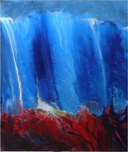 ReMara, Alles ist Energie, Abstraktes, Natur: Diverse, Gegenwartskunst, Abstrakter Expressionismus