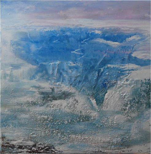 ReMara, Eiszeit, Abstraktes, Zeiten: Winter, Gegenwartskunst, Expressionismus