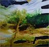 ReMara, Baumgrün, Diverse Landschaften, Pflanzen: Bäume, Gegenwartskunst