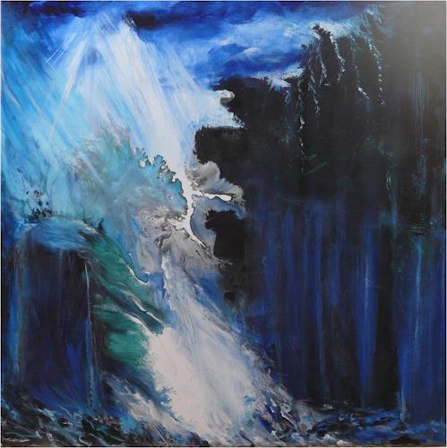 ReMara, Aus allen Wolken...., Natur: Diverse, Abstraktes, Gegenwartskunst, Abstrakter Expressionismus