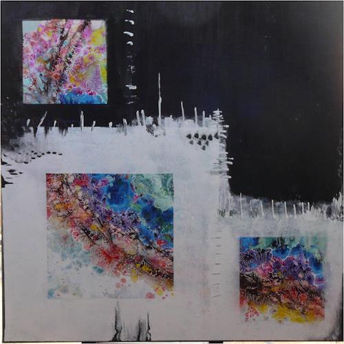 ReMara, Und draußen ist es Frühling..., Abstraktes, Diverse Gefühle, Gegenwartskunst, Abstrakter Expressionismus