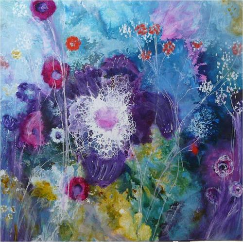 ReMara, Und trotzdem ist es Frühling, Pflanzen: Blumen, Zeiten: Frühling, Gegenwartskunst, Expressionismus