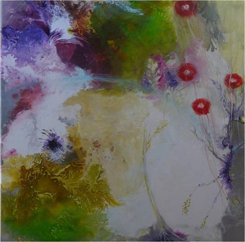 ReMara, Frühlingskleid, Abstraktes, Zeiten: Frühling, Gegenwartskunst, Expressionismus