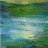 ReMara, Im großen Grün, Landschaft: See/Meer, Poesie, Gegenwartskunst, Expressionismus