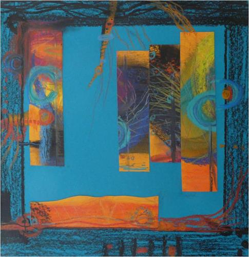 ReMara, kinderspiel.., Abstraktes, Fantasie, Gegenwartskunst, Expressionismus