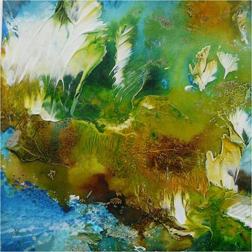 ReMara, The green life, Abstraktes, Natur, Gegenwartskunst