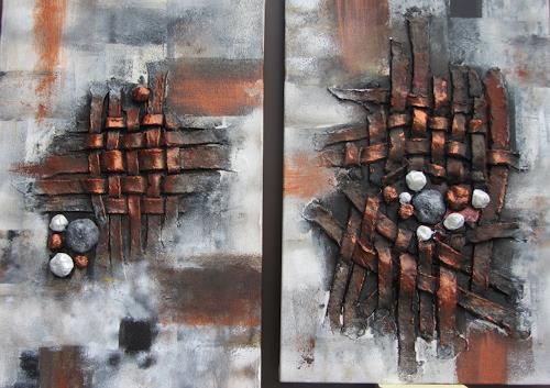 Erna Ryter, Abschied/Trauer, Tod/Krankheit, Tod/Krankheit, Abstrakte Kunst