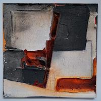 Christel Bormann, kleines Format 25x25 I