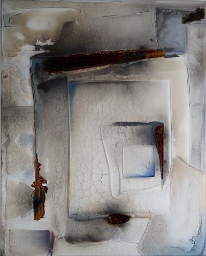 Christel Bormann, gefangen, Abstraktes, Abstrakte Kunst, Expressionismus