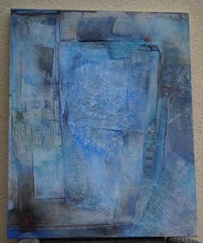 Christel Bormann, nicht mehr so gefangen, Abstraktes, Abstrakte Kunst