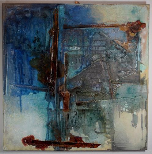 Christel Bormann, o.T., Abstraktes, Abstrakte Kunst