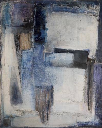 Christel Bormann, rauf oder runter, Abstraktes, Abstrakte Kunst