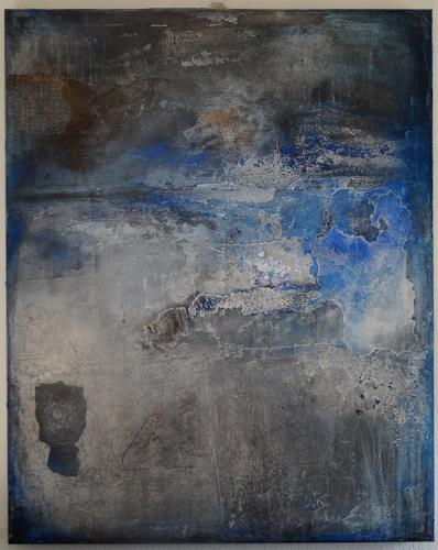 Christel Bormann, abgebröckelt, Abstraktes, Abstrakte Kunst