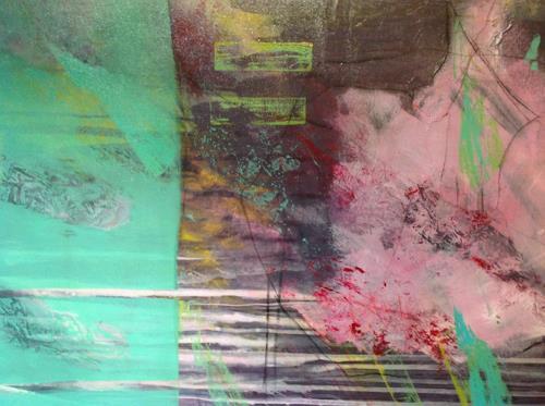 Sonia Radtke, o.t, Abstraktes, Expressionismus