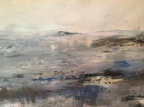 Sonia Radtke, la mer, Landschaft: See/Meer, Abstrakte Kunst, Abstrakter Expressionismus