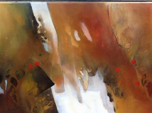 Sonia Radtke, Abendmuse, Abstraktes, Abstrakter Expressionismus, Expressionismus