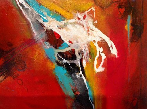 Sonia Radtke, O.T.22, Bewegung, Abstrakter Expressionismus