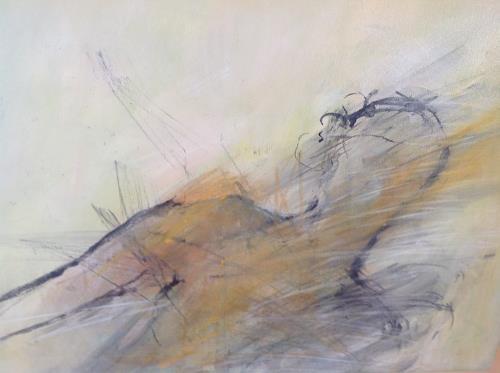 Sonia Radtke, Homme, Menschen: Mann, Neue Figurative Malerei, Abstrakter Expressionismus