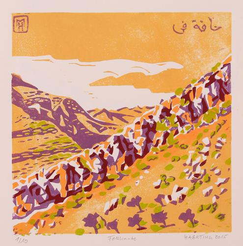 Matthias Haerting, Felskante, Landschaft: Berge, Diverses, Moderne
