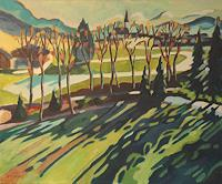 Matthias-Haerting-Landschaft-Berge-Landschaft-Fruehling-Moderne-Moderne