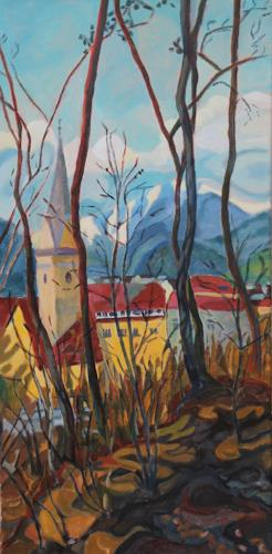 Matthias Haerting, Bruneck (Südtirol), Landschaft: Berge, Landschaft: Winter, Moderne