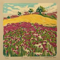 Matthias-Haerting-Landschaft-Huegel-Landschaft-Sommer-Moderne-Moderne