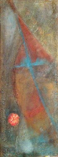 Katharina Frei-Boos, Sturm auf See, Abstraktes, Gegenwartskunst
