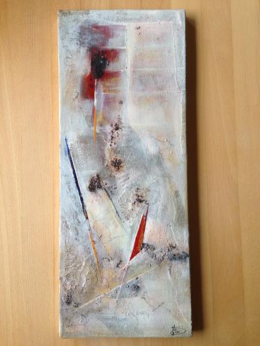 Katharina Frei-Boos, YES I CAN!, Abstraktes, Dekoratives, Gegenwartskunst