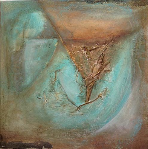 Katharina Frei-Boos, EMERALD, Abstraktes, Dekoratives, Gegenwartskunst