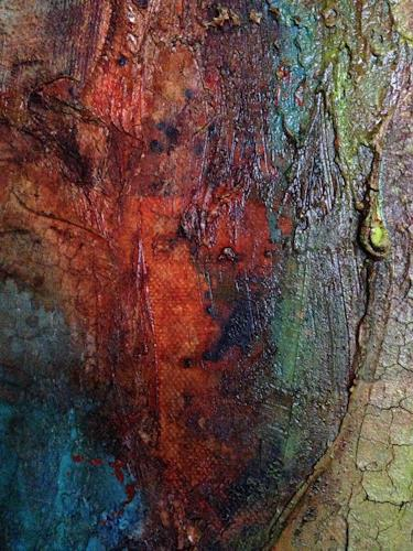 Katharina Frei-Boos, Naturinspirations (Detaille 2), Abstraktes, Gegenwartskunst