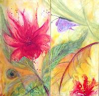 Katharina-Frei-Boos-Abstraktes-Diverse-Pflanzen