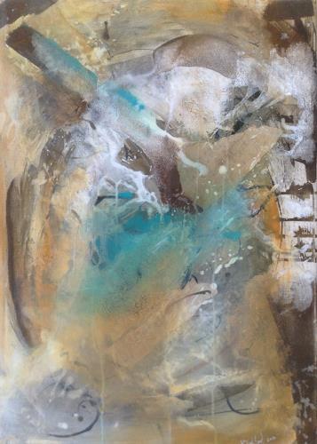 Katharina Frei-Boos, Wather & Earth, Abstraktes, Dekoratives, Gegenwartskunst