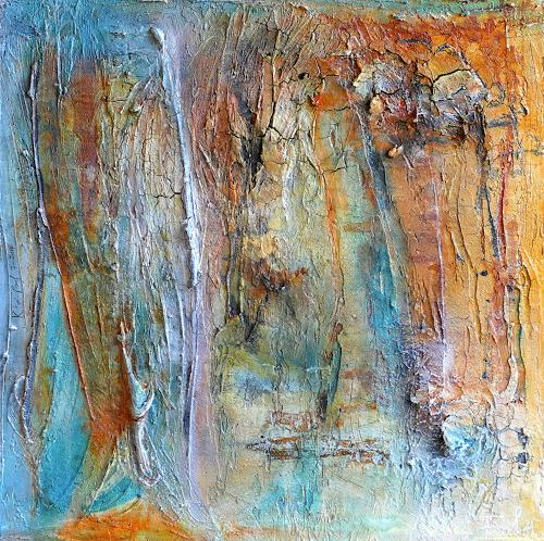 Katharina Frei-Boos, ANGELWING, Abstraktes, Dekoratives, Gegenwartskunst