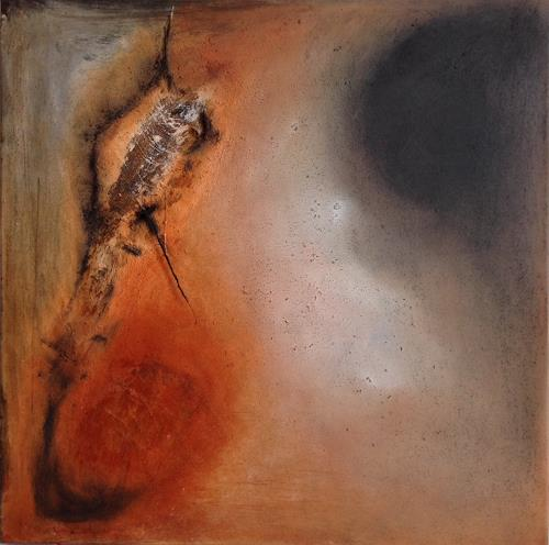 Katharina Frei-Boos, GEBORGENHEIT, Abstraktes, Gefühle: Geborgenheit, Expressionismus