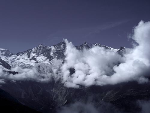Katharina Frei-Boos, Berge II, Landschaft: Berge, Natur: Diverse, Gegenwartskunst