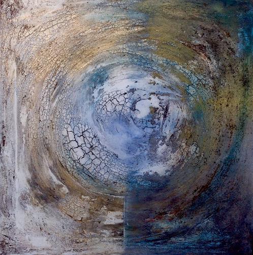 Katharina Frei-Boos, Blue Planet, Abstraktes, Abstraktes, Expressionismus