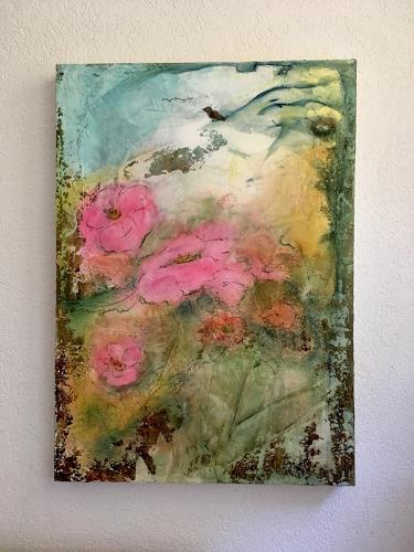 Katharina Frei-Boos, Summerfeelings, Abstraktes, Natur, Abstrakte Kunst