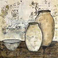 Katharina-Frei-Boos-Stilleben-Abstraktes-Moderne-Expressionismus-Abstrakter-Expressionismus