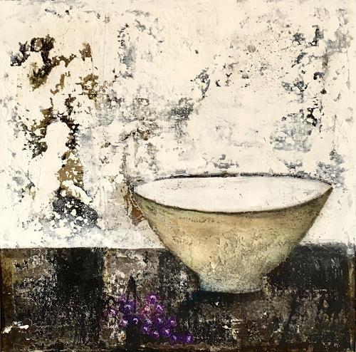 Katharina Frei-Boos, Stilleben, Stilleben, Abstraktes, Abstrakte Kunst, Expressionismus