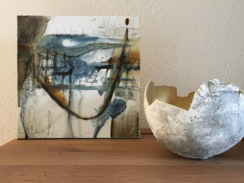 Katharina Frei-Boos, American Dream, Abstraktes, Abstrakte Kunst