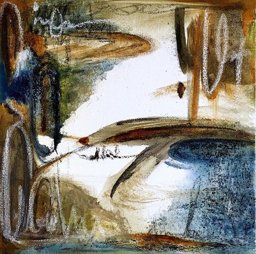 Katharina Frei-Boos, O.T., Abstraktes, Abstrakte Kunst, Abstrakter Expressionismus