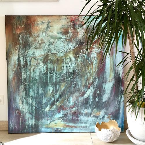 Katharina Frei-Boos, OT, Abstraktes, Abstrakte Kunst