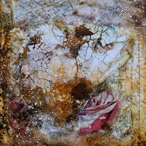 Katharina Frei-Boos, Sentimental, Abstraktes, Abstrakter Expressionismus