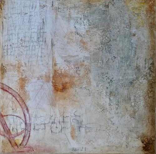 Katharina Frei-Boos, mura toscane #08-19, Abstraktes, Abstrakter Expressionismus